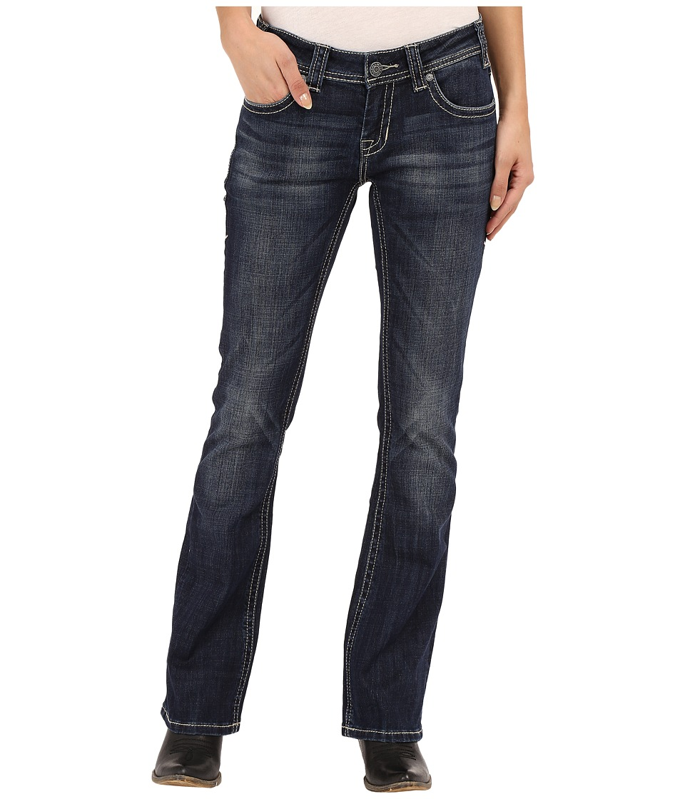 Rock and Roll Cowgirl - Rival Bootcut in Dark Vintage W6-6442 (Dark Vintage) Women's Jeans