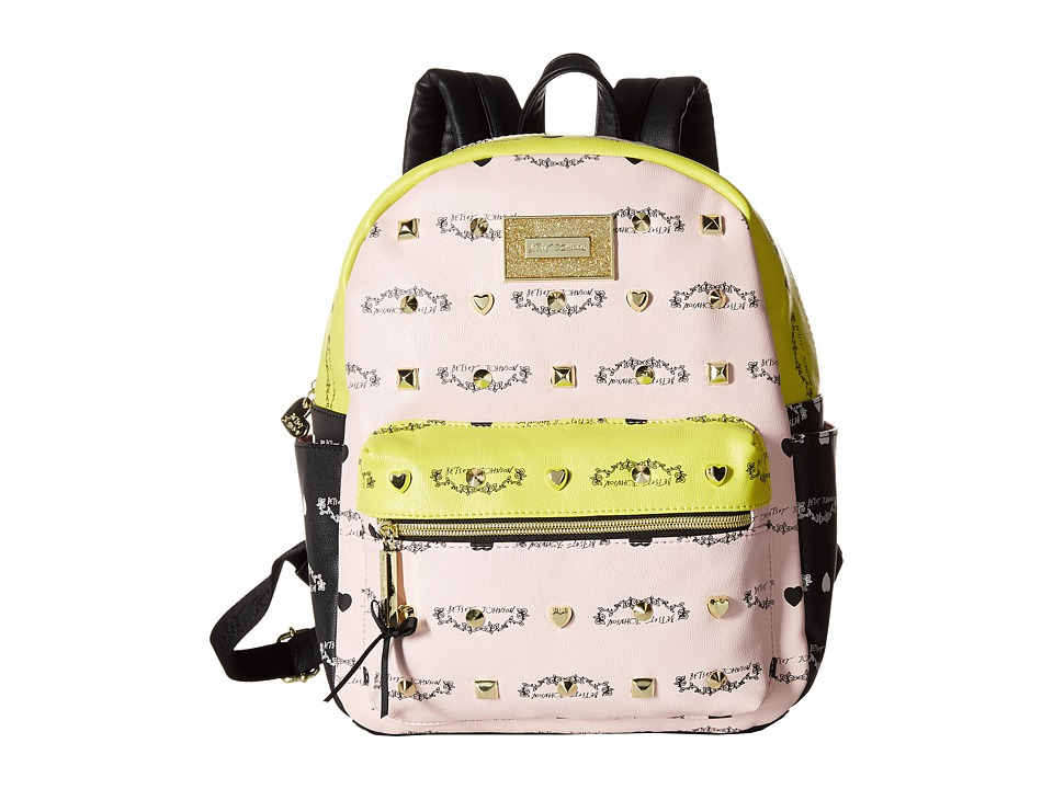 Betsey Johnson - Studded Signature Mini Backpack (Multi) Backpack Bags