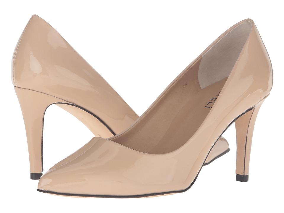 Vaneli - Stacey (Ecru Patent) High Heels