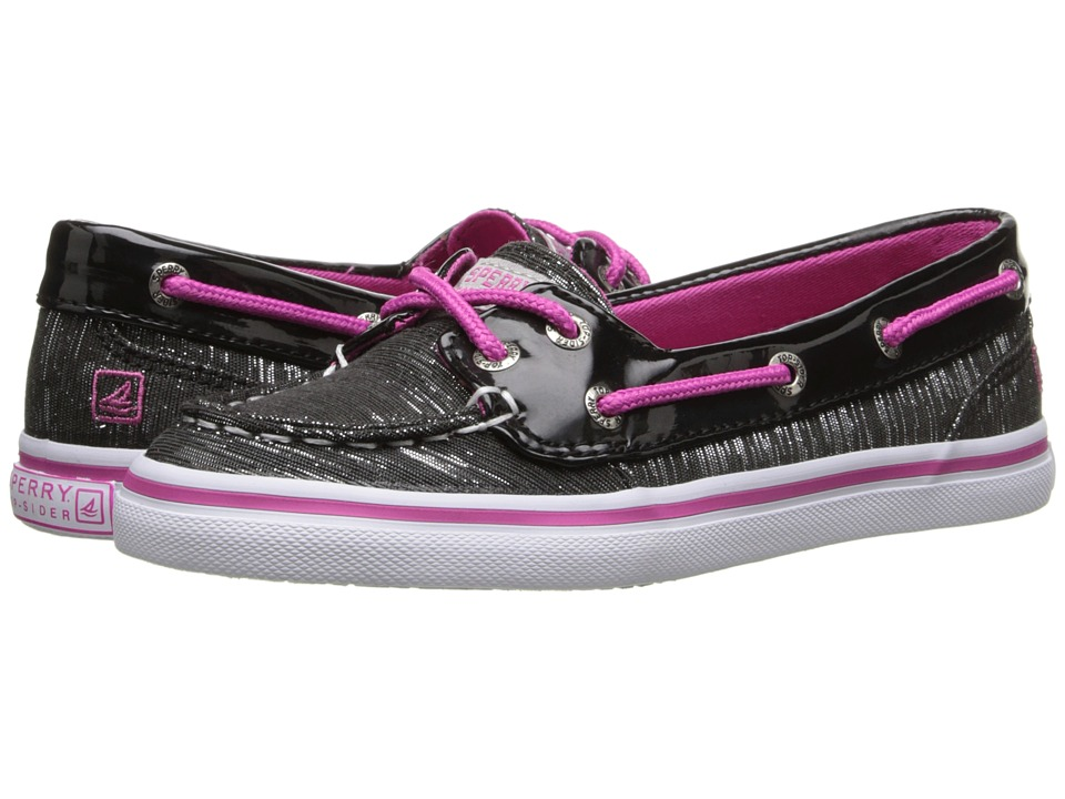 Sperry Top-Sider Kids - Seabright (Little Kid/Big Kid) (Black Shimmer) Girl's Shoes
