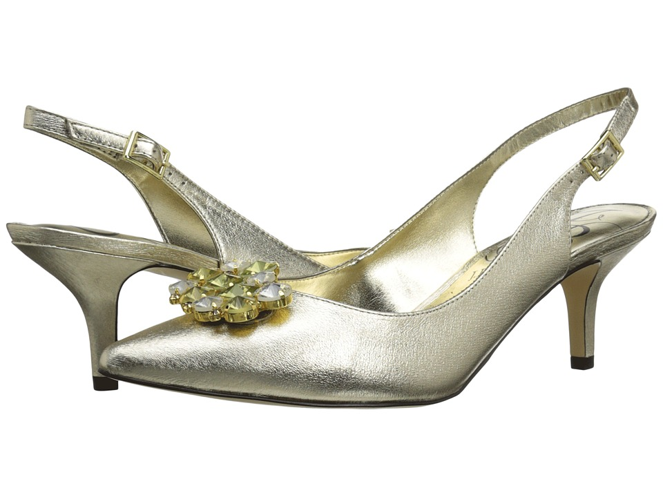 J. Renee Makenzie (Gold) High Heels