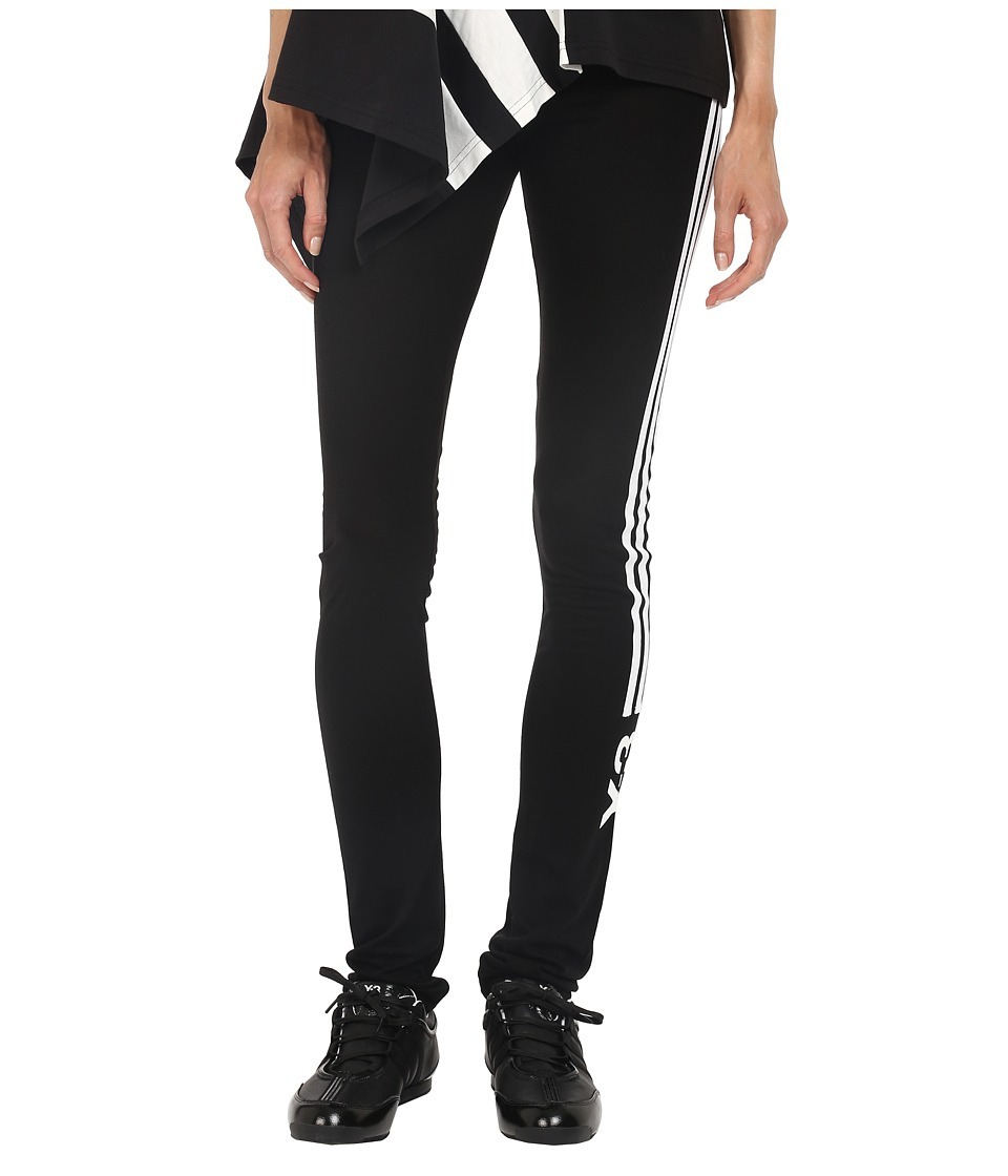 adidas Y-3 by Yohji Yamamoto - Lux Track Leggings (Black) Women's Casual Pants