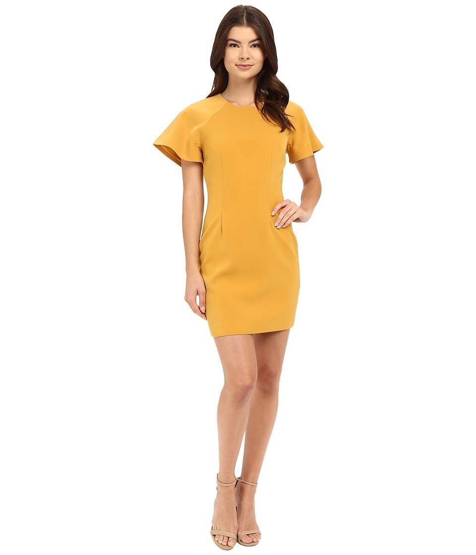KEEPSAKE THE LABEL - Wasting Time Dress (Mustard) Women's Dress