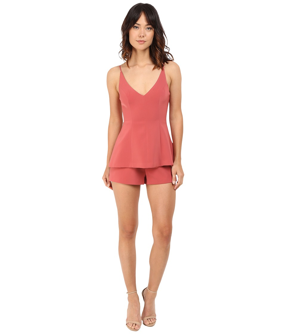 KEEPSAKE THE LABEL - No Secrets Romper (Spice) Women's Jumpsuit & Rompers One Piece