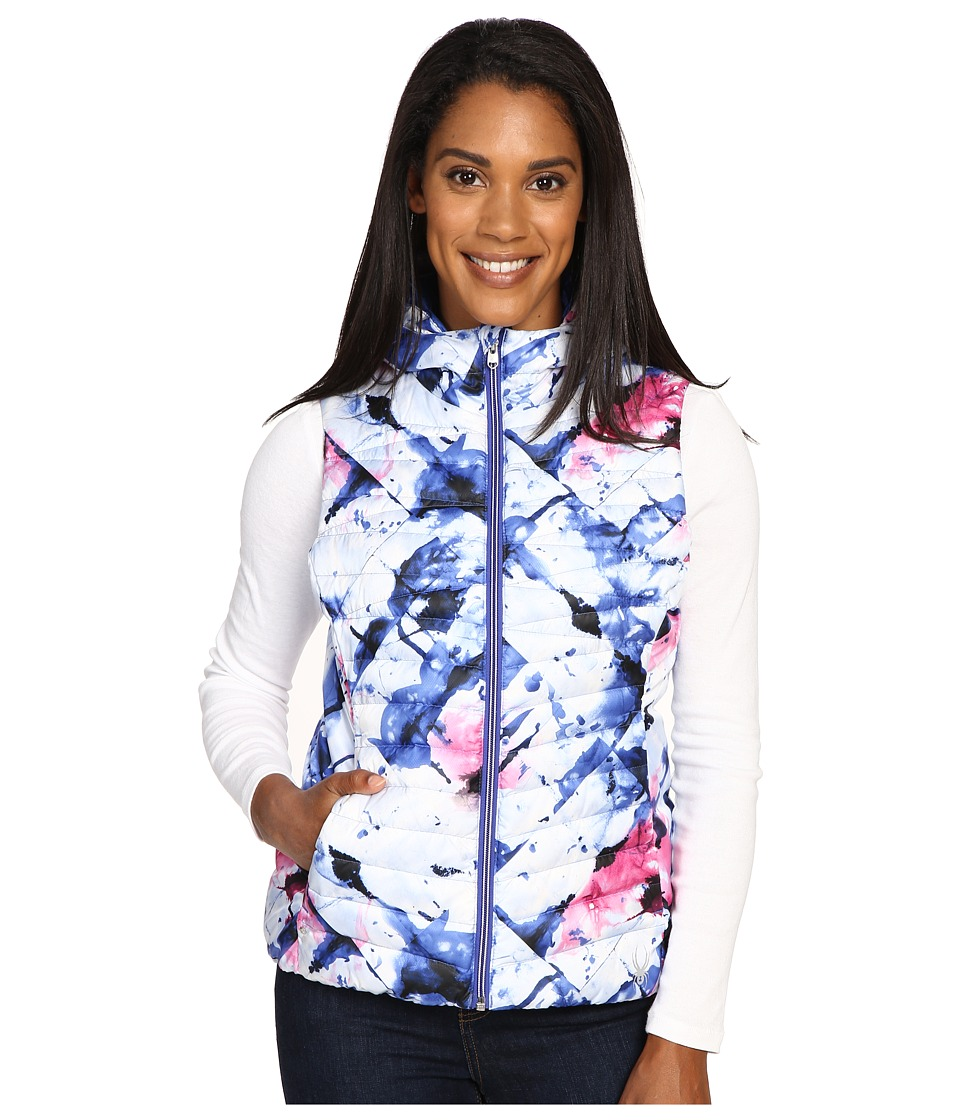 Spyder - Timeless Down Vest (Freeze Bling/Bling) Women's Vest