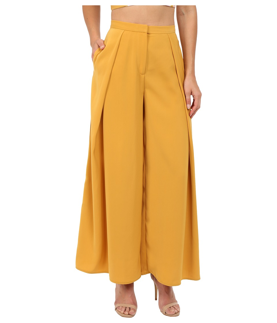 KEEPSAKE THE LABEL - Mercy Pants (Mustard) Women's Casual Pants