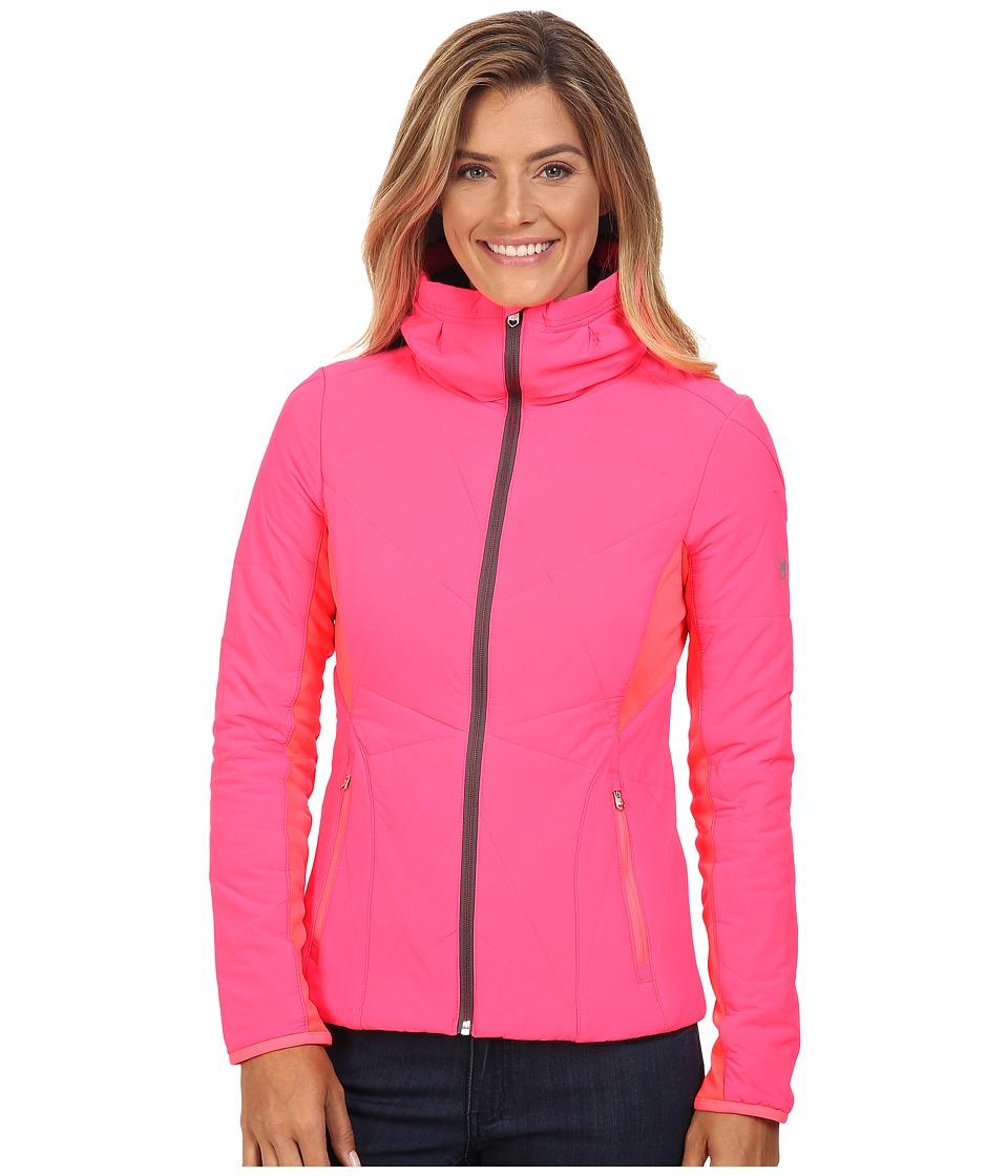 Spyder - Nynja Insulator Jacket (Bryte Pink/Weld) Women's Coat