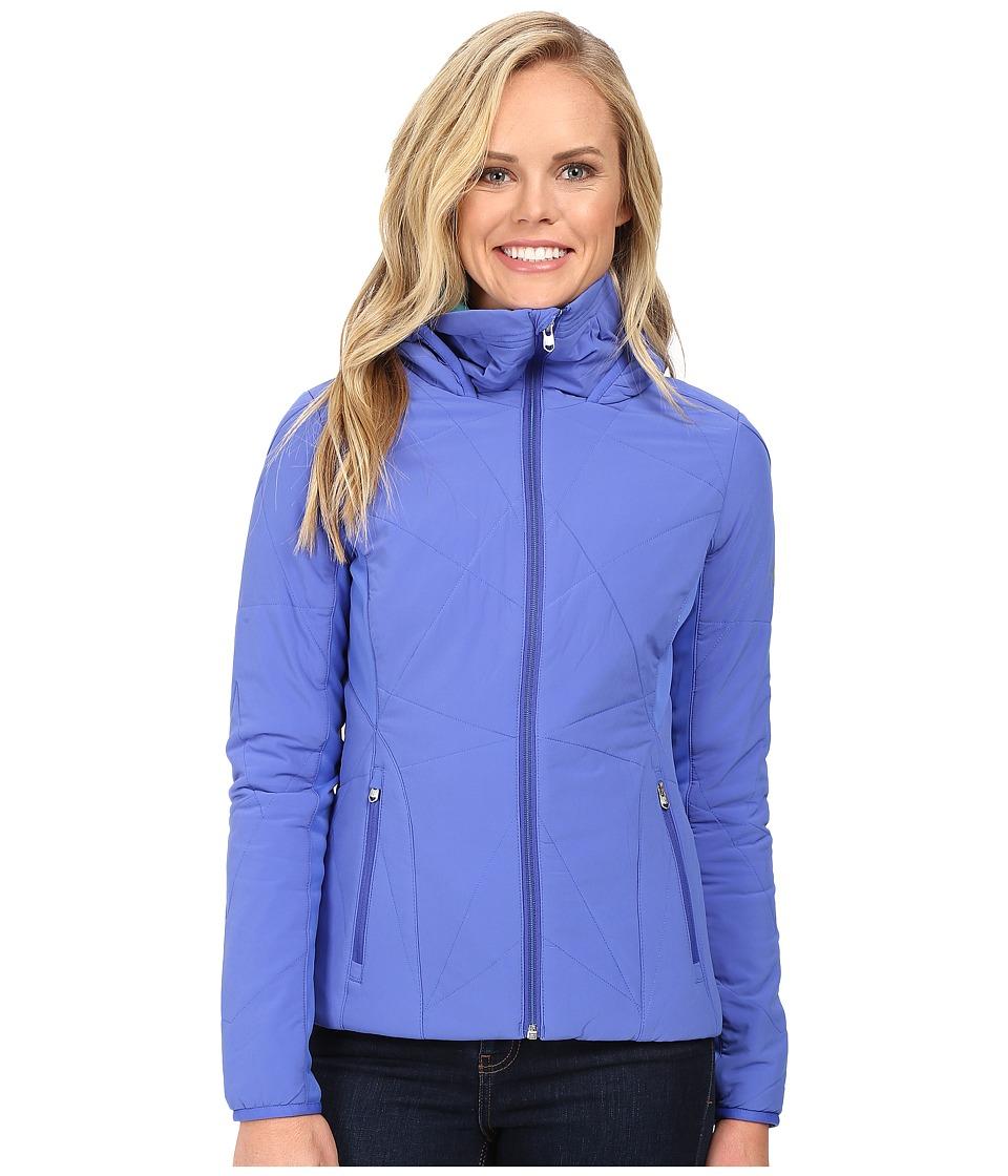 Spyder - Nynja Hoodie Insulator Jacket (Bling/Freeze) Women's Coat