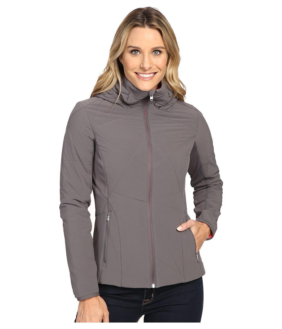 Spyder - Nynja Hoodie Insulator Jacket (Weld/Bryte Pink) Women's Coat