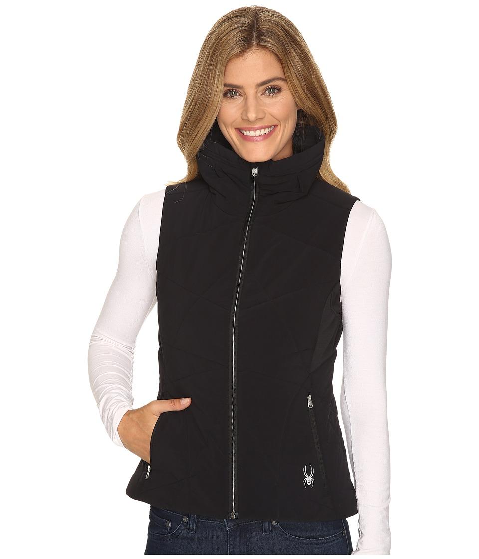 Spyder - Nynja Insulator Vest (Black/Silver) Women's Vest