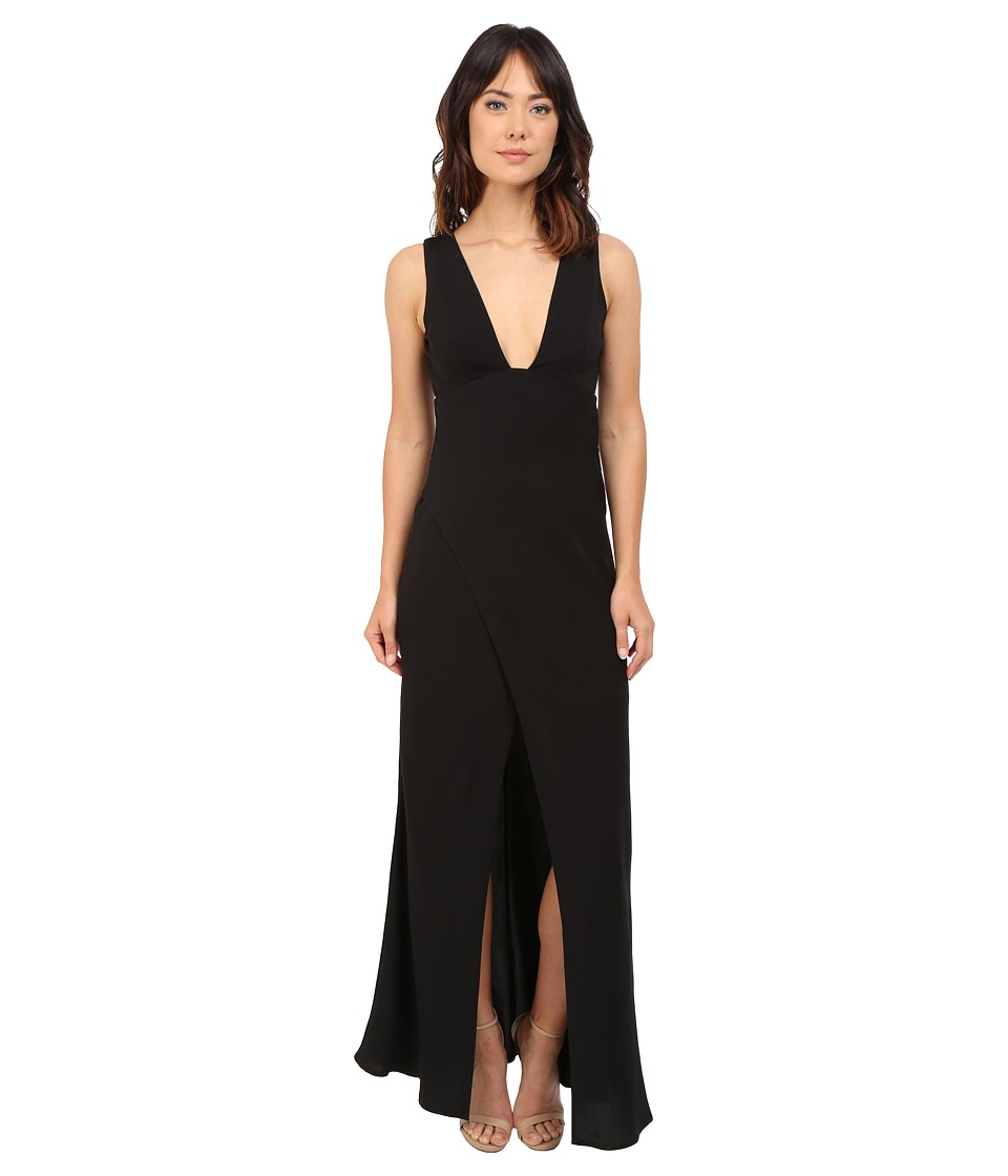KEEPSAKE THE LABEL - Enough Space Maxi Dress (Black) Women's Dress