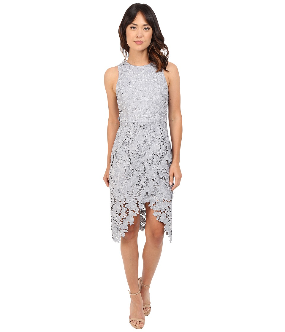 KEEPSAKE THE LABEL - Say My Name Lace Dress (Pale Grey) Women's Dress