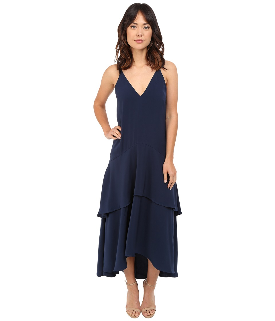 KEEPSAKE THE LABEL - Mercy Maxi Dress (Navy) Women's Dress