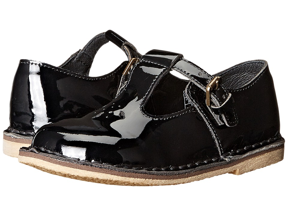 Polo Ralph Lauren Kids - School T-Strap (Toddler) (Black Patent Leather) Girl's Shoes