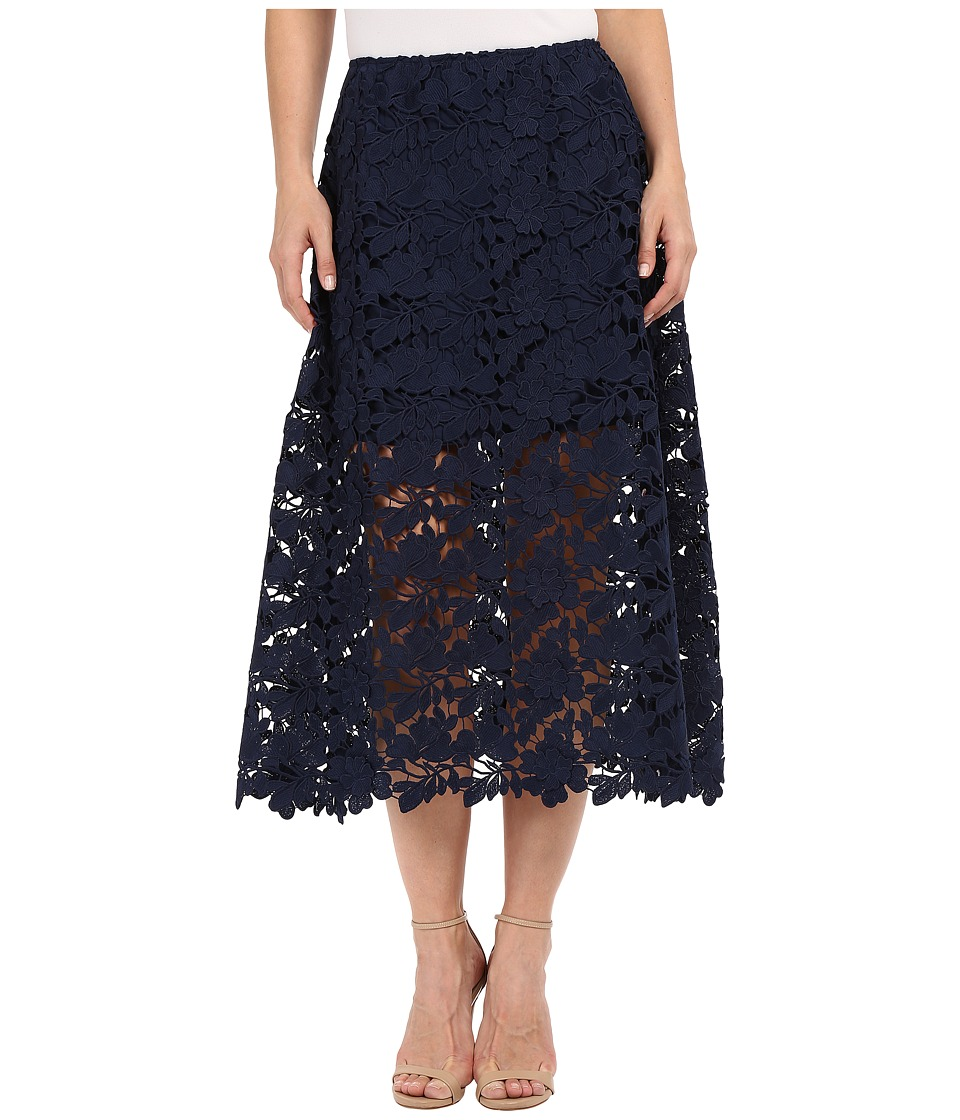 KEEPSAKE THE LABEL - Say My Name Lace Skirt (Navy) Women's Skirt