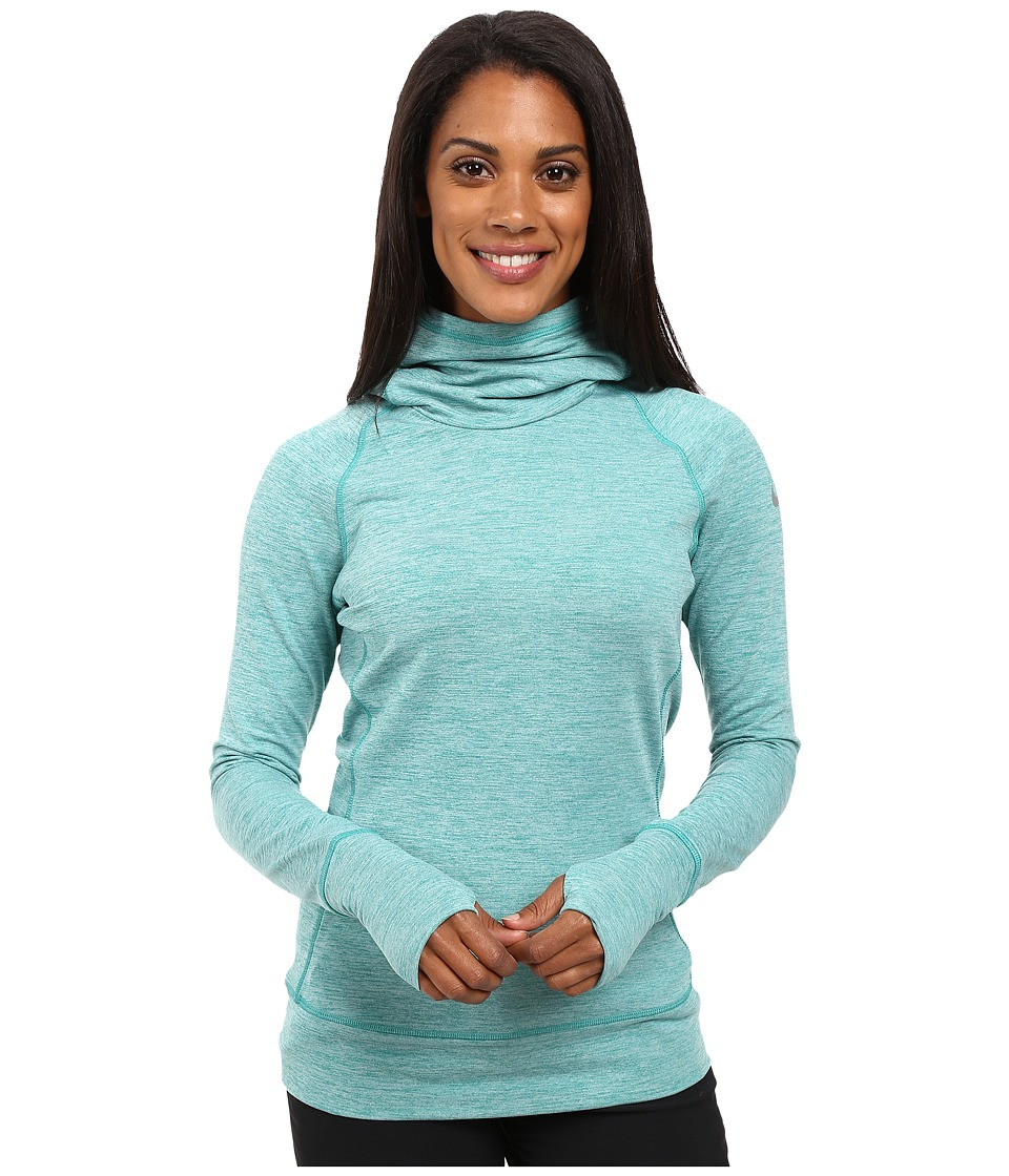 Nike Golf - Bunker Funnel Top (Rio Teal/Metallic Silver) Women's Clothing