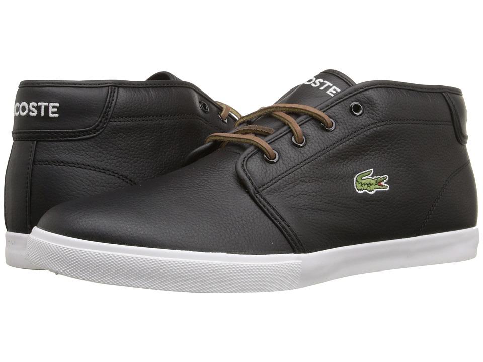 Lacoste - Ampthill TBR2 (Black/Black) Men's Shoes