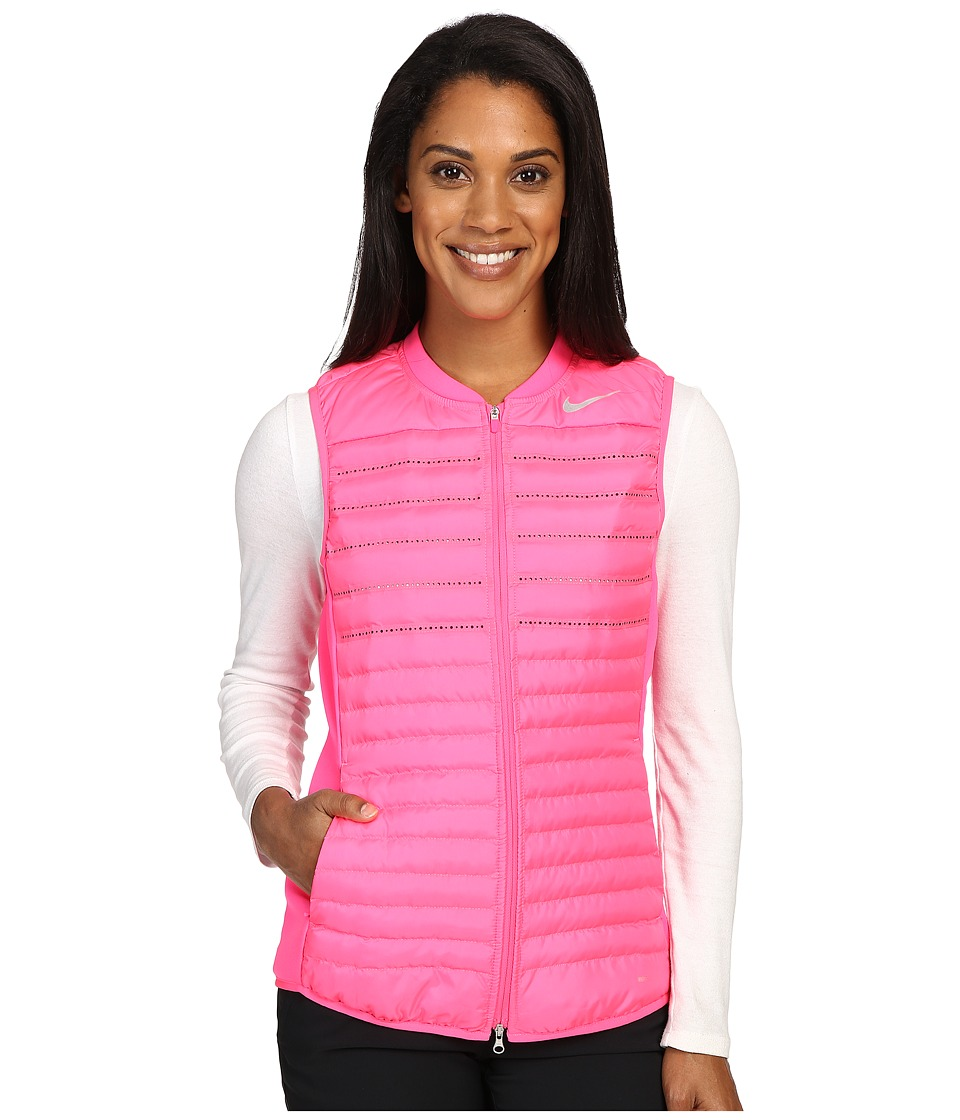 Nike Golf - Aeroloft Combo Vest (Hyper Pink/Hyper Pink/Wolf Grey/Reflective Silver) Women's Vest