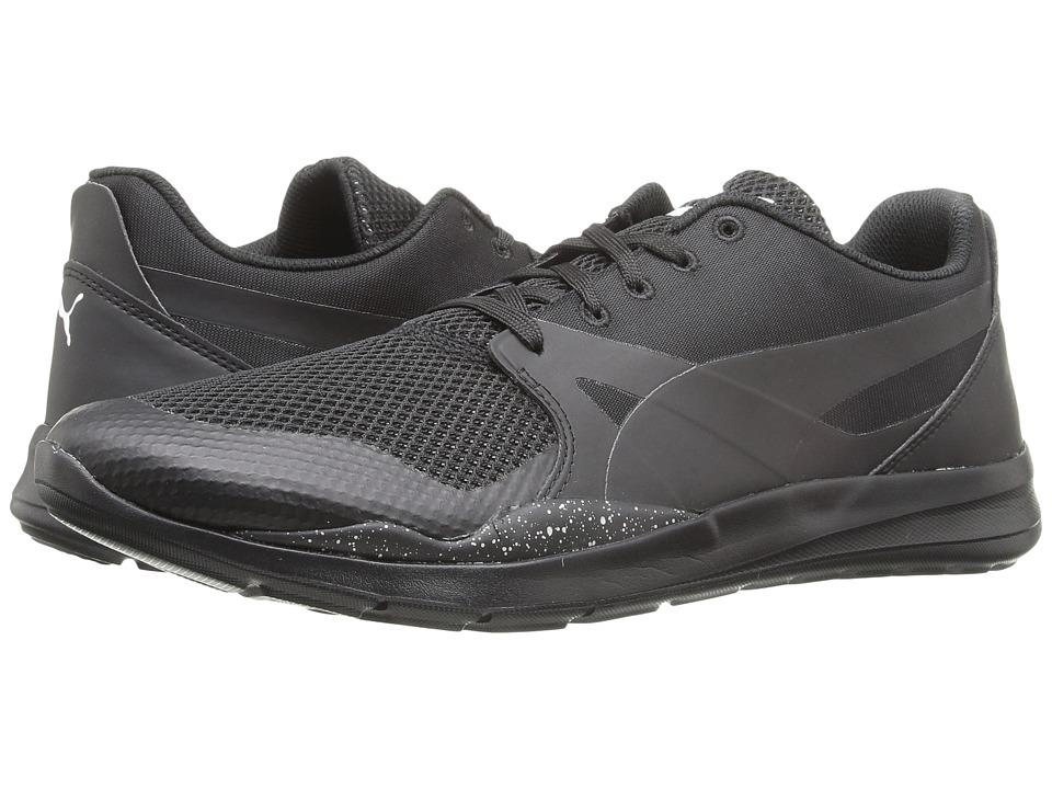 PUMA - Duplex Evo Graphic (PUMA Black) Men's Running Shoes