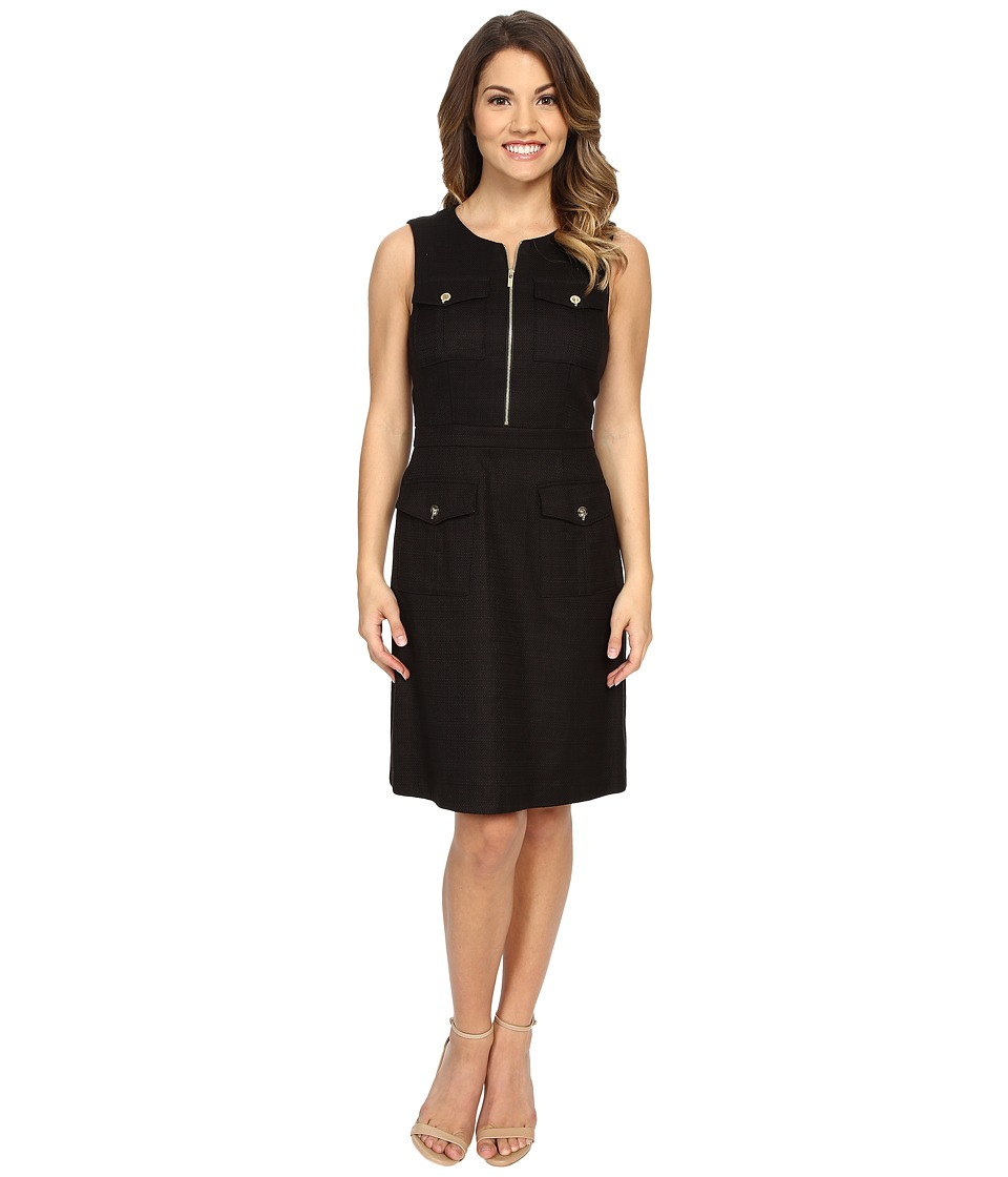 Tahari by ASL Petite - Petite Eason-Q Dress (Black) Women's Dress