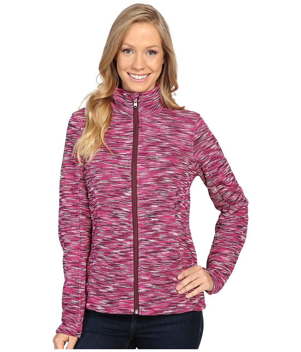 Spyder - Endure Space Dye Full Zip Mid Weight Core Sweater (Voila/Coy/Fini) Women's Sweater