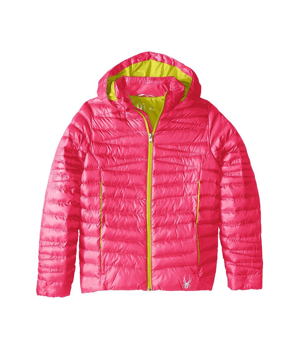 Spyder Kids - Timeless Synthetic Down Jacket (Little Kids/Big Kids) (Bryte Bubblegum/Acid) Girl's Coat