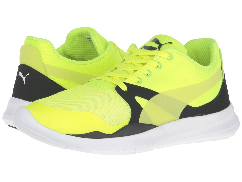 PUMA - Duplex Evo (Safety Yellow/Safety Yellow/Puma White) Men's Running Shoes
