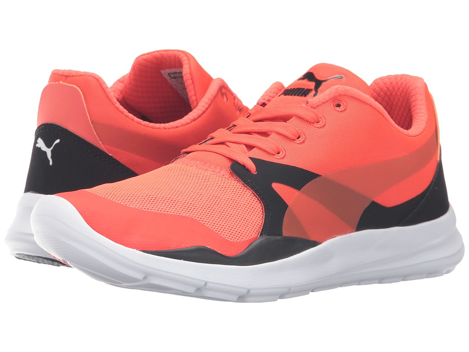 PUMA - Duplex Evo (Red Blast/Puma Black/Puma Black) Men's Running Shoes
