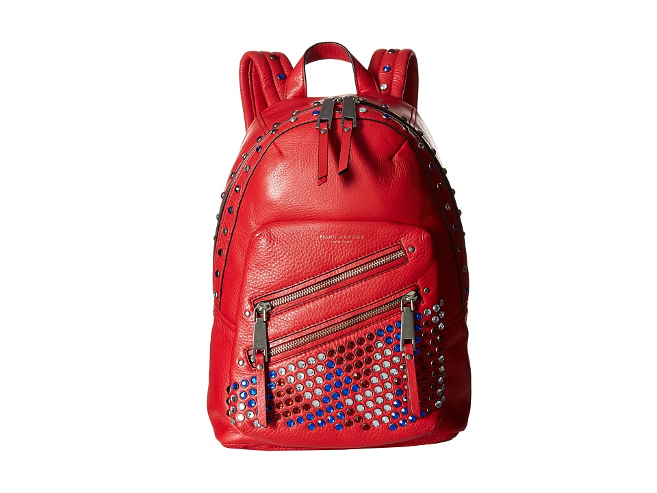 Marc Jacobs - PYT Backpack (Brilliant Red) Backpack Bags