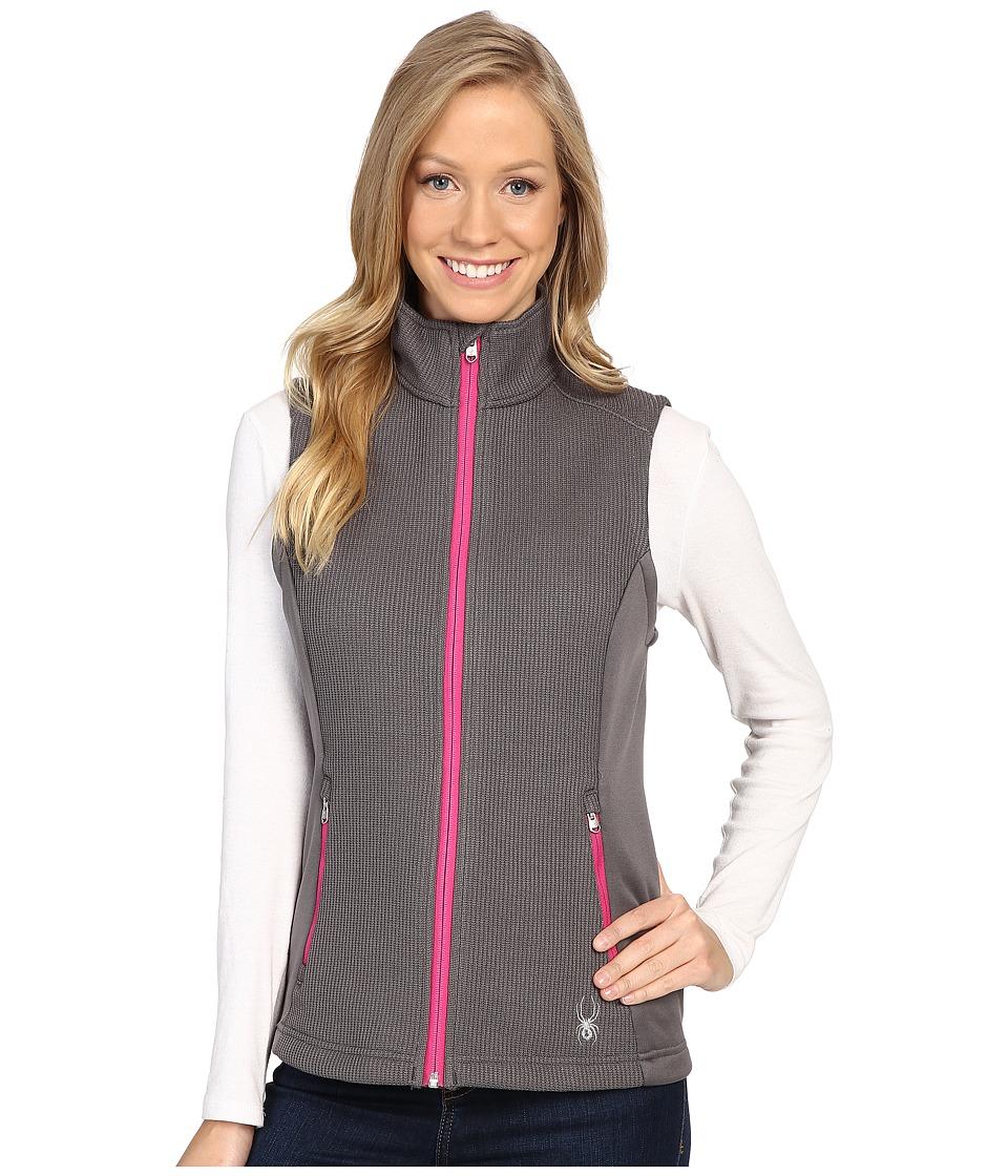 Spyder - Melody Full Zip Mid Weight Core Sweater Vest (Weld/Voila) Women's Vest