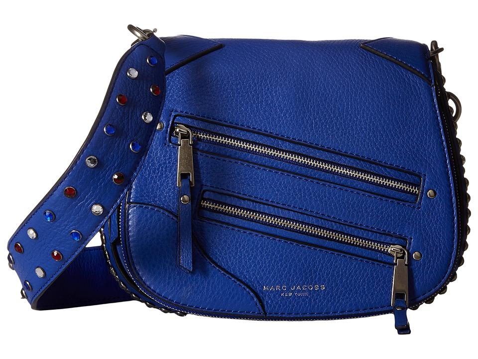 Marc Jacobs - PYT Small Saddle Bag (Cobalt Blue) Handbags