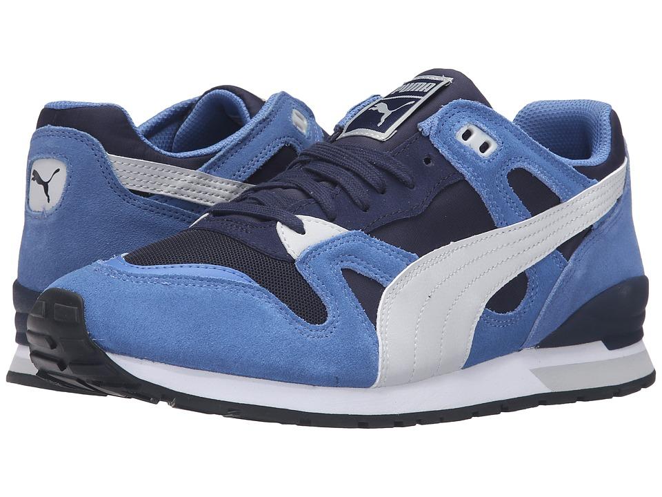 PUMA Duplex Classic Blue Yonder-Peacoat-Glacier Gray Mens Running Shoes
