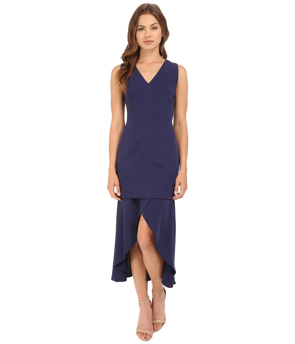 KEEPSAKE THE LABEL - Stay Close Dress (Navy) Women's Dress
