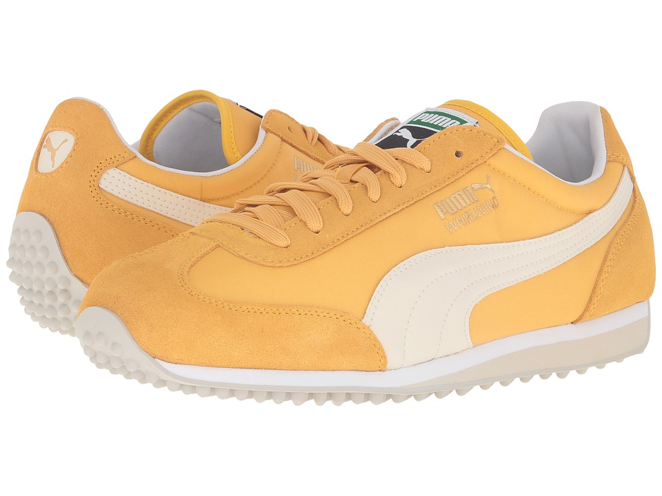 PUMA - Whirlwind Classic (Bright Gold/Birch) Men's Lace up casual Shoes