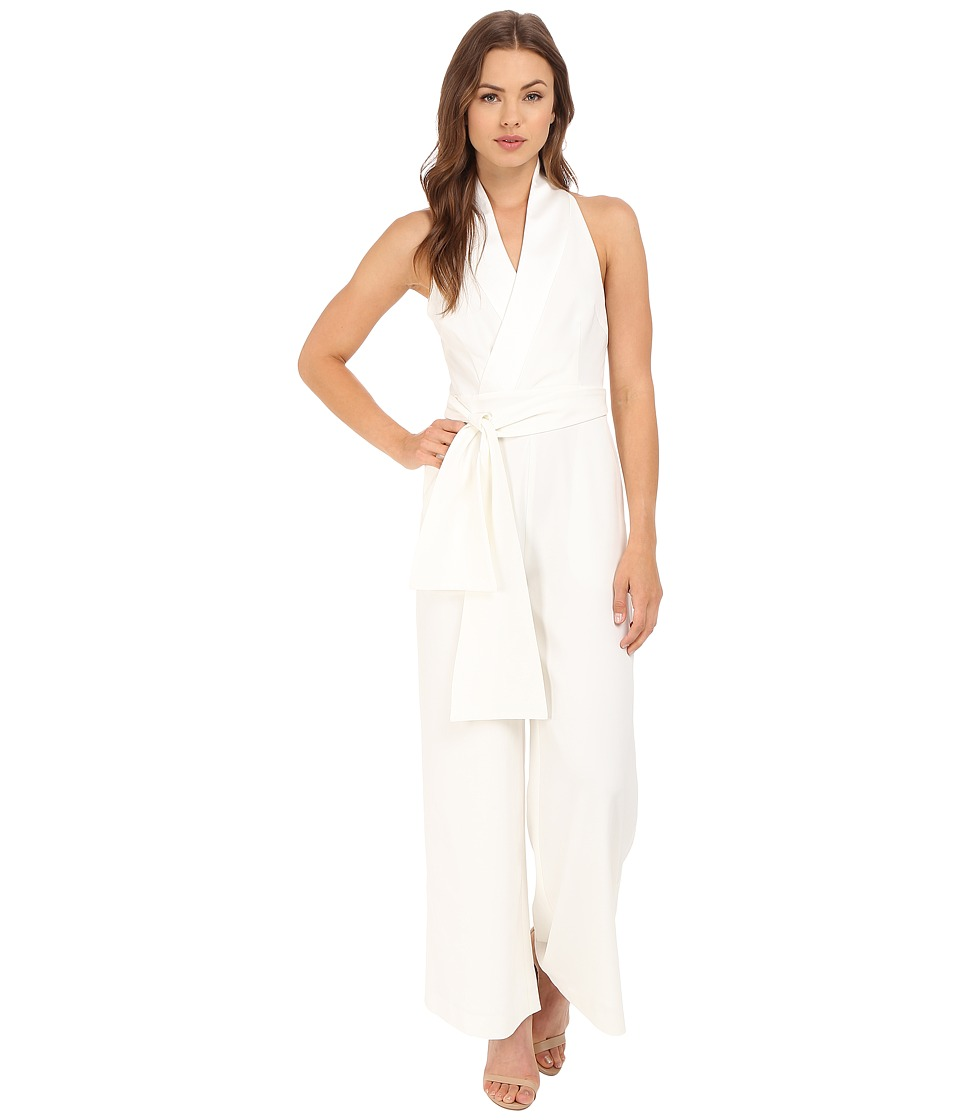 KEEPSAKE THE LABEL - White Shadows Jumpsuit (Ivory) Women's Jumpsuit & Rompers One Piece