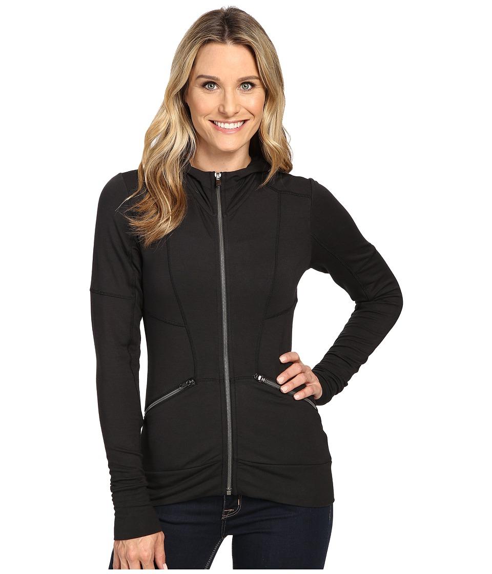 Spyder - Addyson Hoodie French Terry Top (Black) Women's Sweatshirt