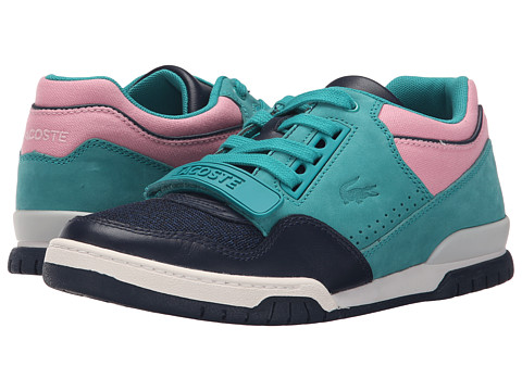 Lacoste - Missouri TLC (Navy/Green/Pink) Women