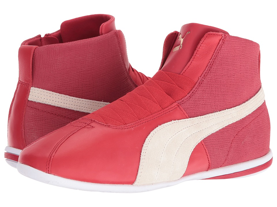 PUMA Eskiva Mid Remaster (Barbados Cherry/Whisper White) Women