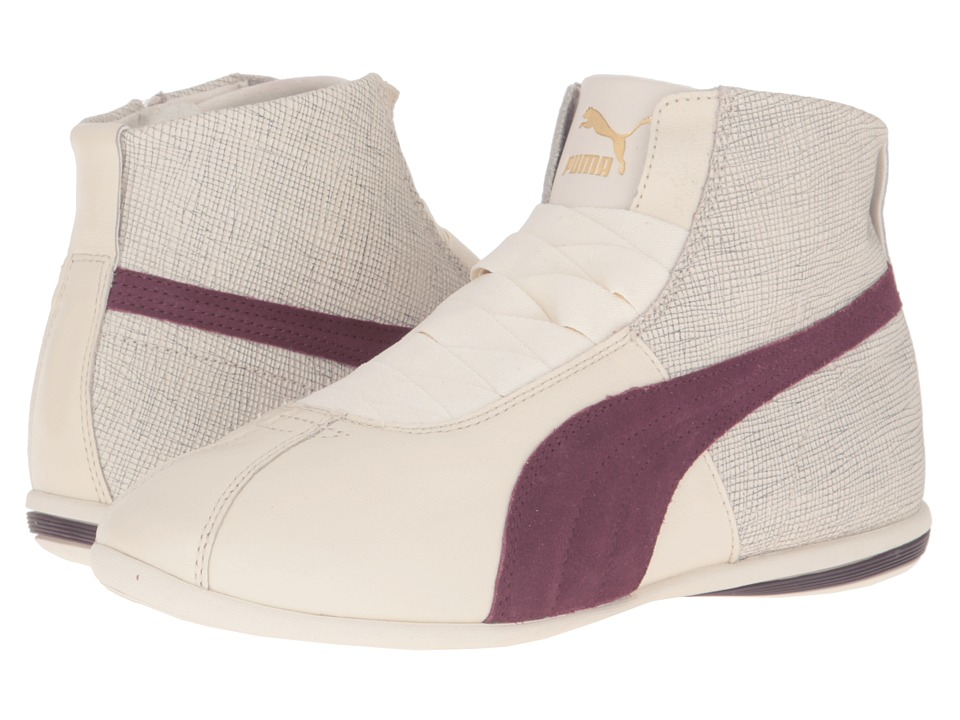 PUMA Eskiva Mid Remaster (Birch/Winetasting) Women