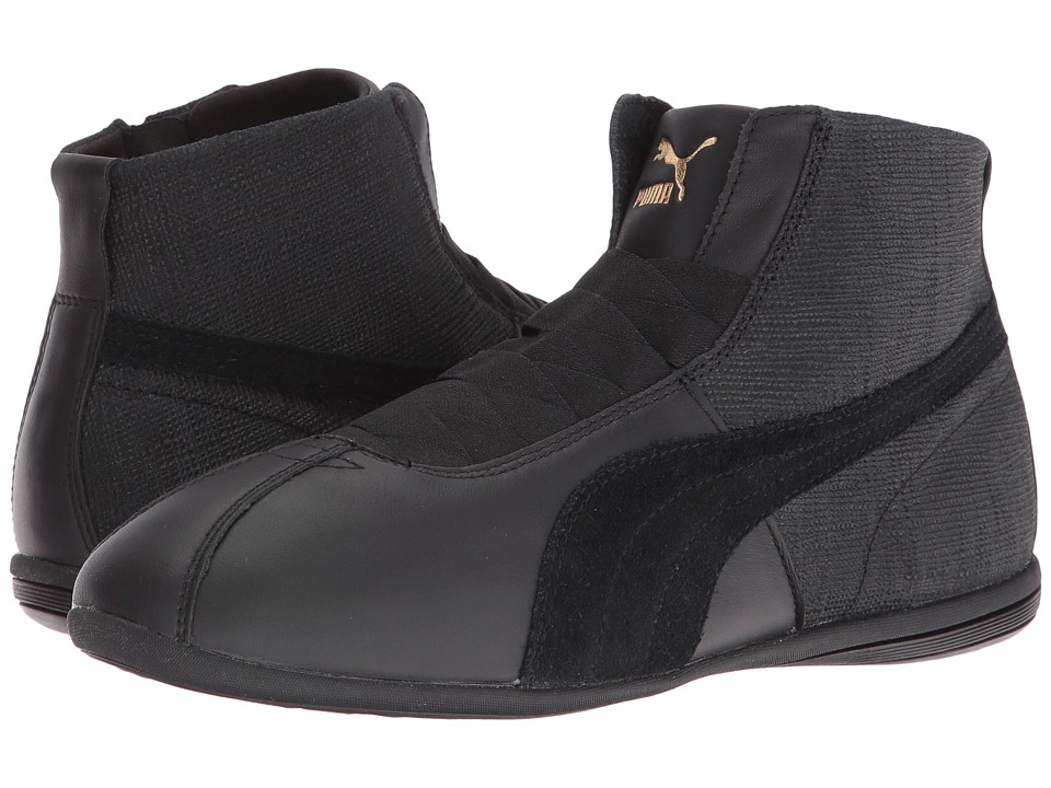PUMA - Eskiva Mid Remaster (Puma Black/Puma Black) Women's Shoes