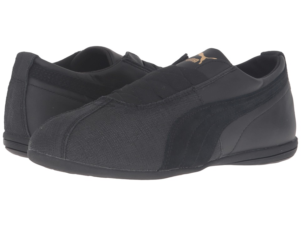 PUMA - Eskiva Low Remaster (Puma Black/Puma Black) Women's Shoes