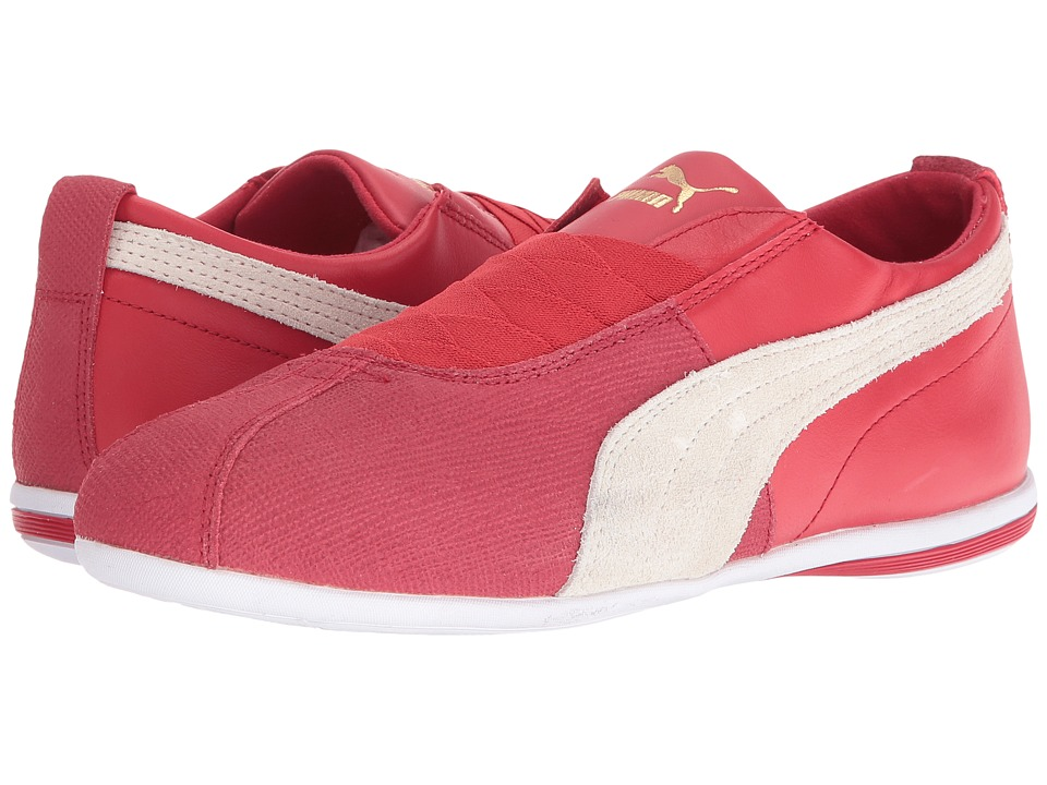 PUMA - Eskiva Low Remaster (Barbados Cherry/Whisper White) Women's Shoes