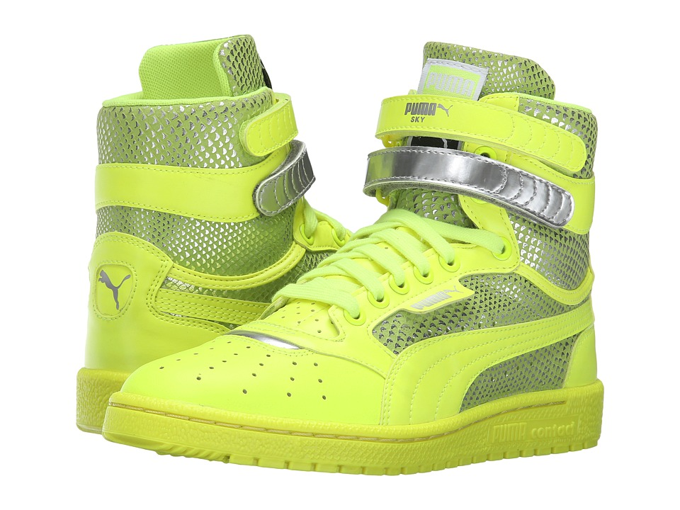 PUMA - Sky II High Future Minimal (Safety Yellow) Women's Shoes