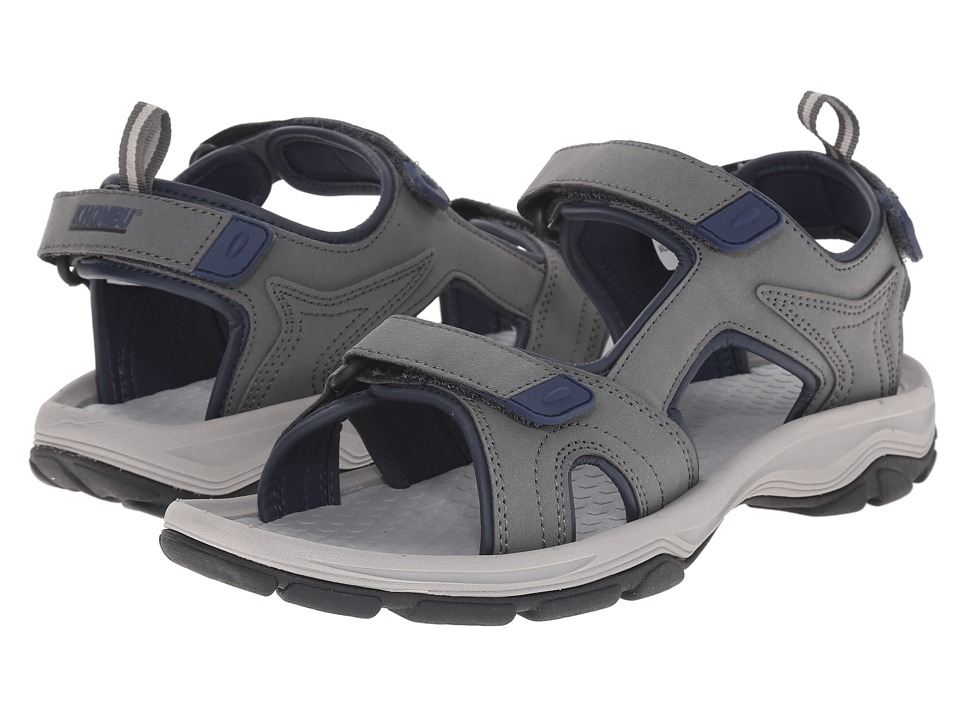 Khombu - Dustin (Grey) Men's Shoes