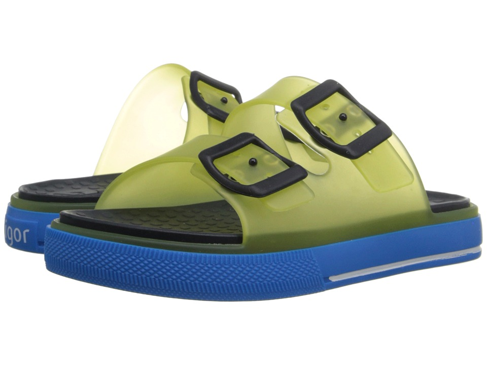 Igor - Maui (Toddler/Little Kid/Big Kid) (Transparent Yellow) Kid's Shoes