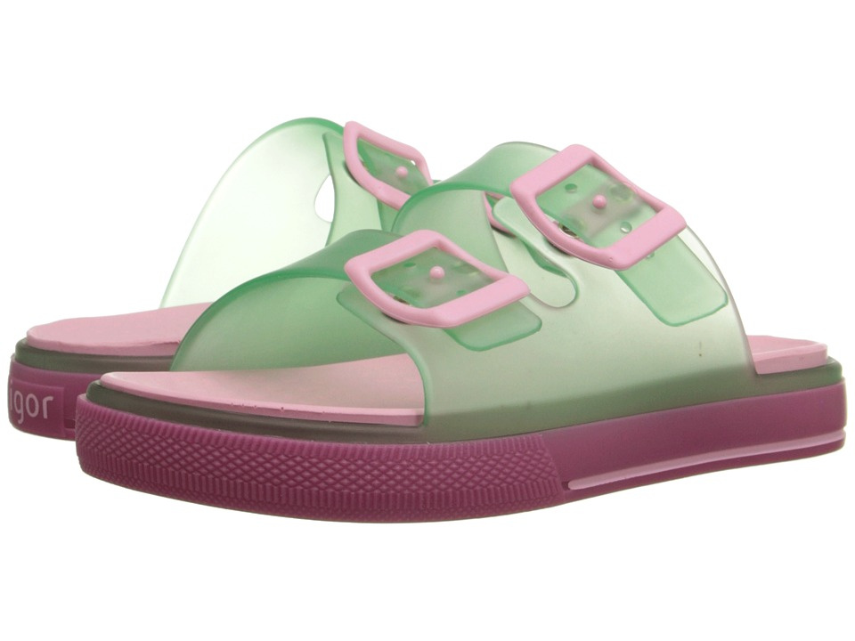 Igor - Maui (Toddler/Little Kid/Big Kid) (Transparent Green) Kid's Shoes