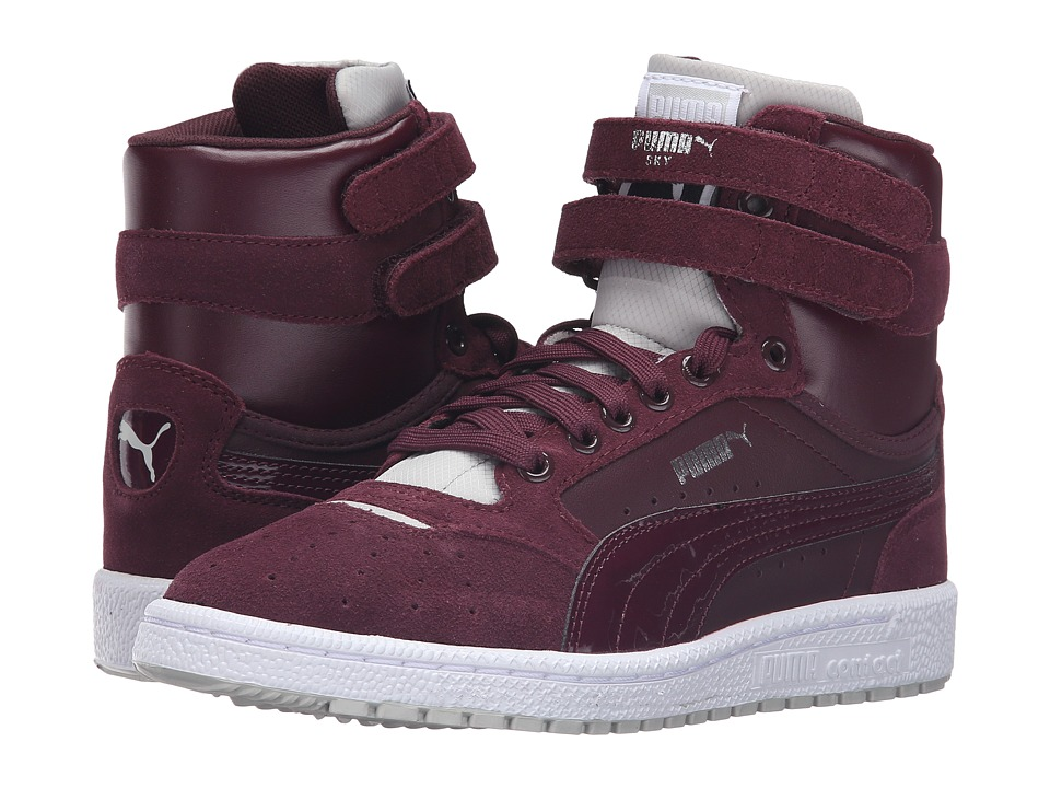 PUMA - Sky II High Streetwear (Winetasting/Glacier Gray) Women's Shoes