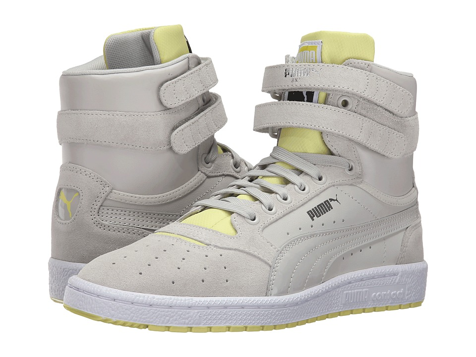 PUMA - Sky II High Streetwear (Glacier Gray/Limelight) Women's Shoes