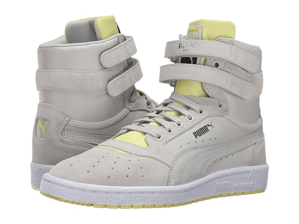 PUMA - Sky II High Streetwear (Glacier Gray/Limelight) Women's Shoes