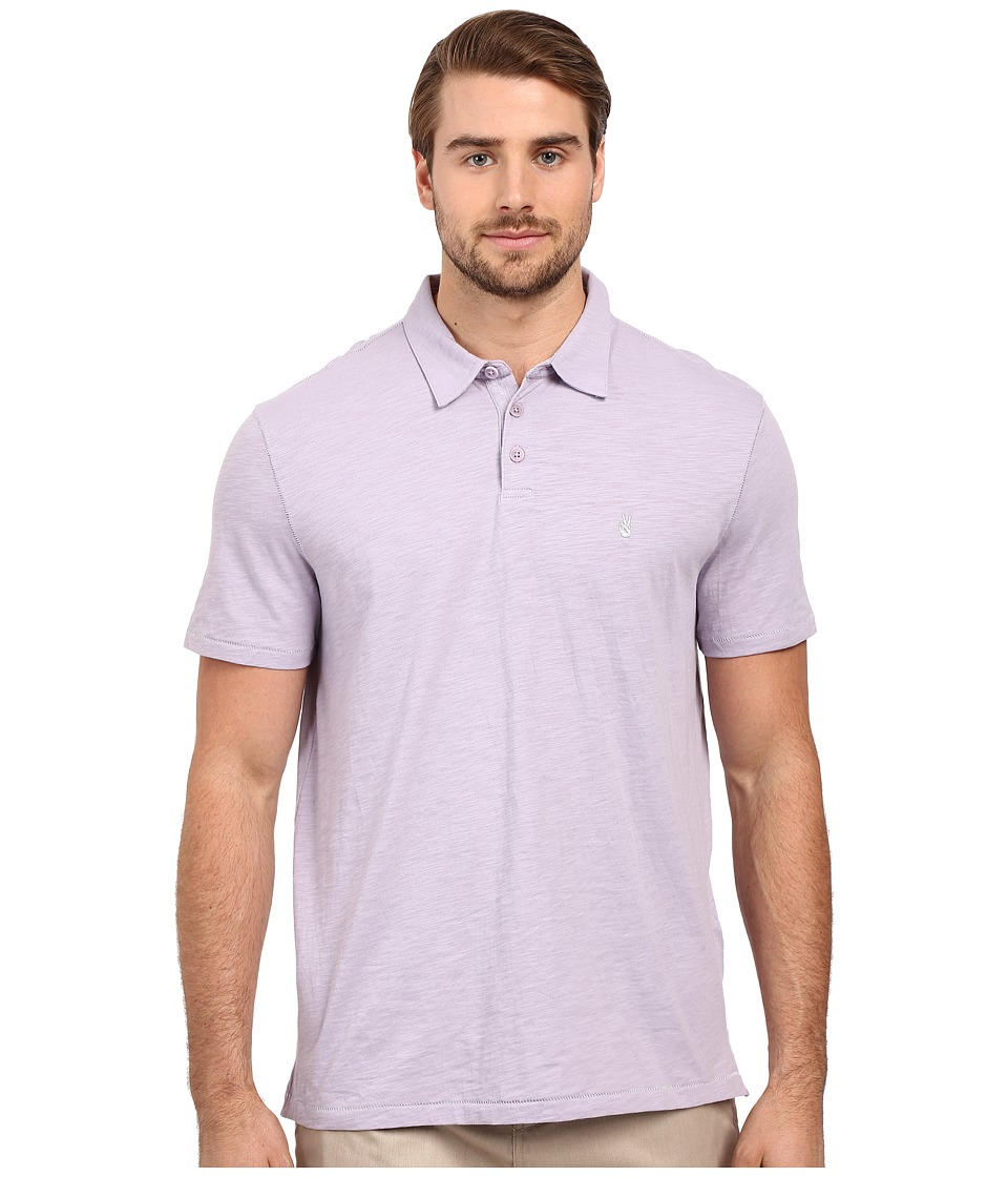 John Varvatos Star U.S.A. - Soft Collar Peace Polo K1381S1B (Lilac Mist) Men's Short Sleeve Pullover
